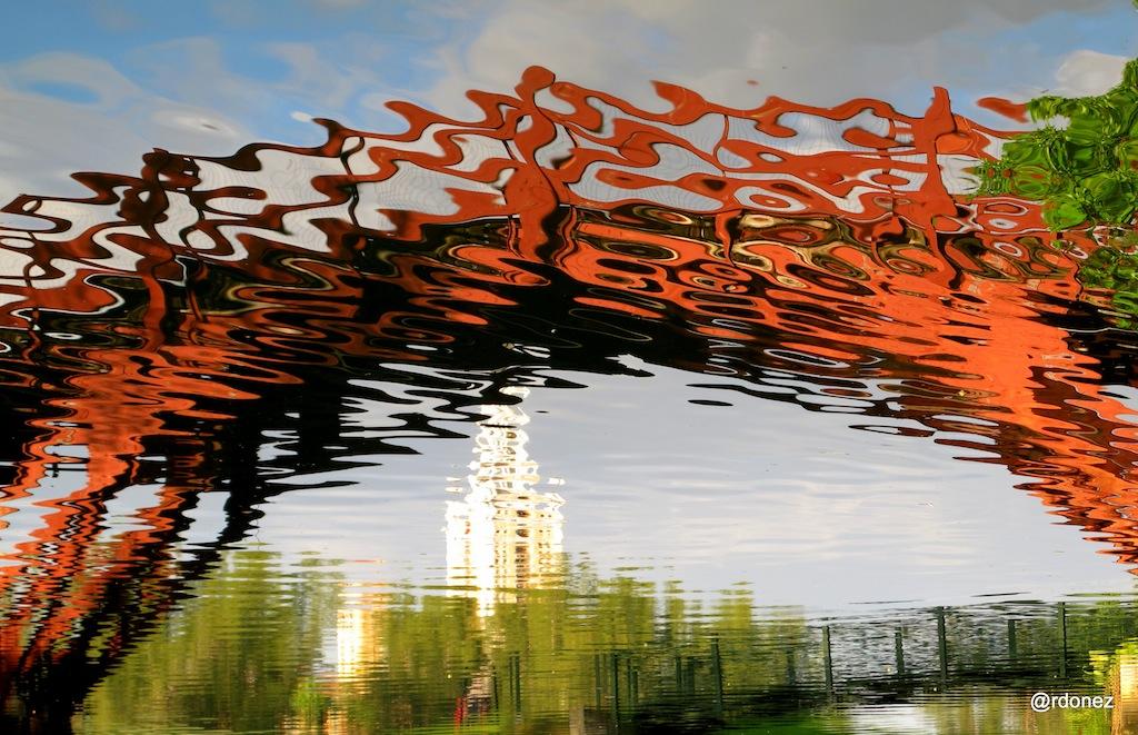 Coral Gables: puentes y abstracciones desde el canal (Fotografías de Yeraldine Ordóñez)