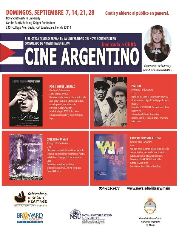 Cine Argentino dedicado a Cuba