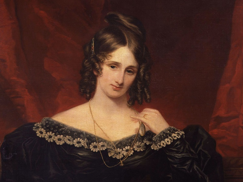 MARY SHELLEY (VILLA DIODATI). OMAR NIETO