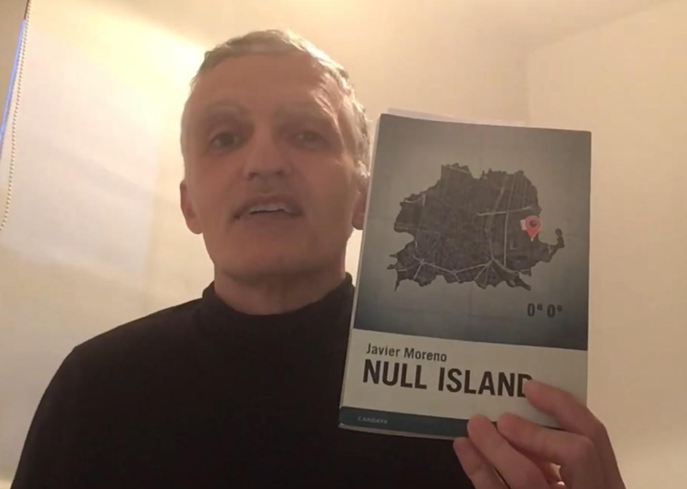 VIDEO RESEÑA DE NULL ISLAND DE JAVIER MORENO. CARLOS GÁMEZ PÉREZ